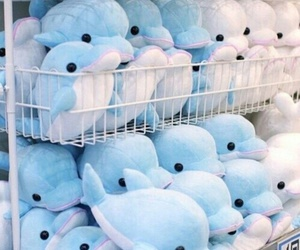 adorable, cute, and dolphin toys image