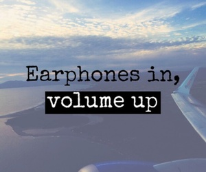 quote, music, and volume image