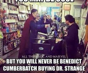 benedict cumberbatch, Marvel, and doctor strange image