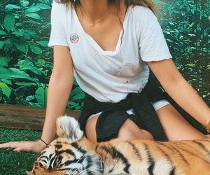 tiger, andrea russett, and ️youtubers image
