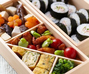 food, lunch, and bento box image