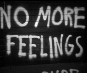 feelings, quotes, and black and white image