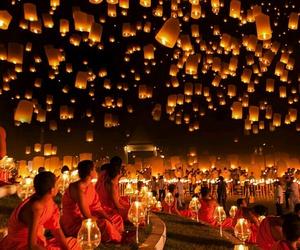 festival and lanterns image