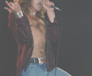 classic rock, led zeppelin, and robert plant image