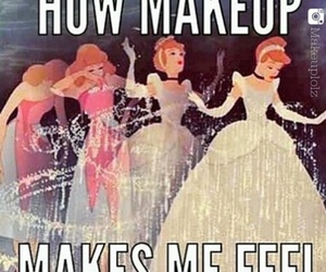 makeup, cinderella, and make up image