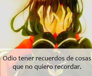 frases en español, frases anime, and frases tristes image