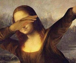 dab, monalisa, and funny image