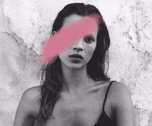 b&w, kate moss, and luxury image