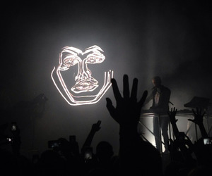 disclosure, concert, and grunge image