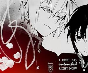 beautiful, manga, and monochrome image