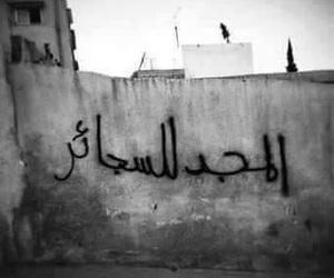 arabic, جداريات, and سجائِر image