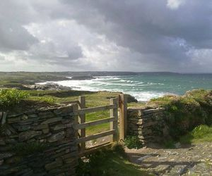 coast, Cornwall, and ocean image