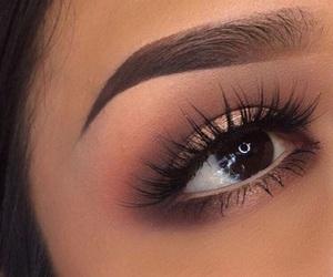 eyebrows, makeup, and beautiful image