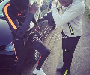 dab, nike, and thug image