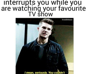 funny, teen wolf, and lol image