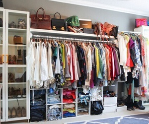clothes, home, and wardrobe image
