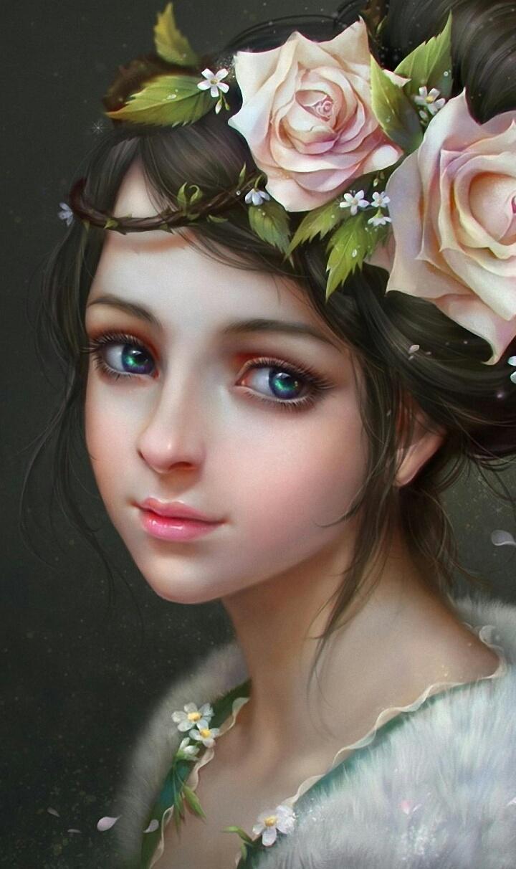 Art Art Girl Background Beautiful Beautiful Girl Beauty Beauty Girl Cartoon Cute Art Drawing Face Fashion Girl Illustration Illustration Girl Iphone Kawaii Pastel Roses Wallpapers We Heart It Woman Beautiful Art Beauty