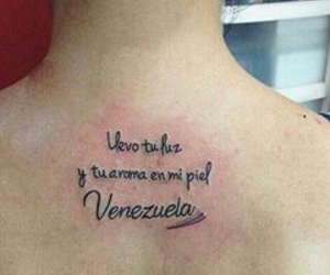 passion, tatoo, and venezuela image