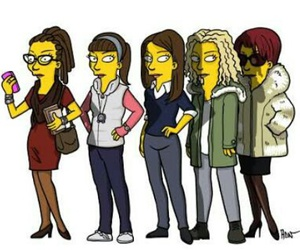 orphan black, simpsons, and helena image