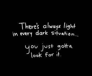 light, quote, and stay positive image