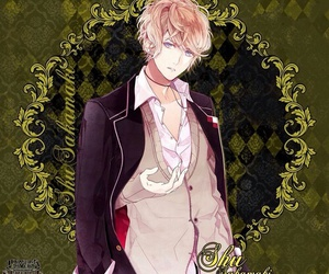 anime, diabolik lovers, and vampire image