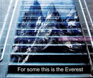 funny, quote, and everest image