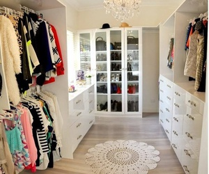 clothes, closet, and Dream image