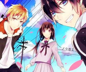 anime, yukine, and noragami image