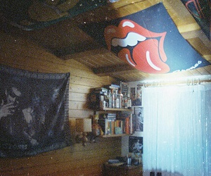 room, indie, and rolling stones image
