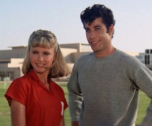 grease, danny, and John Travolta image