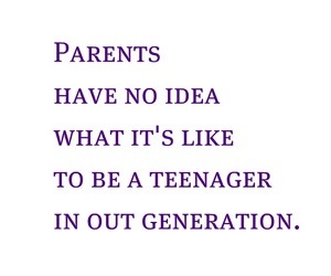 parents, quote, and teenager image