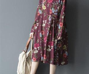 dress, etsy, and long dress image
