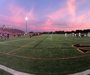 breast cancer, field, and football image