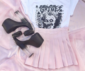 outfit, fashion, and pastel image