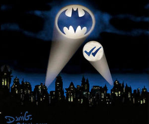 batman, funny, and visto image