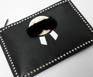 fendi, purse, and karlito image