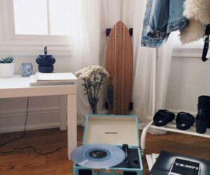 room, music, and hipster image