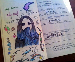 colores, draw, and wreck this journal image