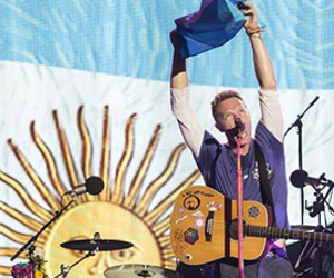 argentina, Chris Martin, and coldplay image