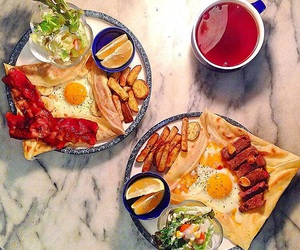 breakfast, brunch, and French Fries image
