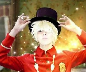 big bang, blonde, and butterly image