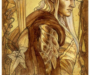elf, the lord of the rings, and haldir image