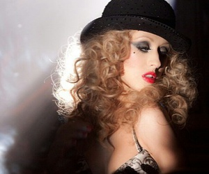 burlesque, christina aguilera, and xtina image