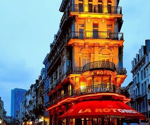 brussels, lights, and travel image