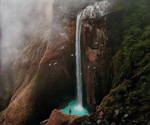 waterfall and amazing image