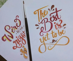 doodle, inspiration, and lettering image