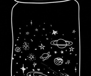 space and black image