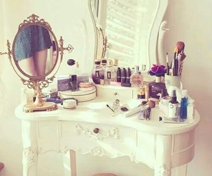 antique, decor, and make up image