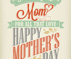 happy mother's day and love image