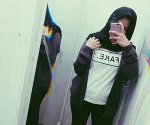 black, purple, and tumblr image